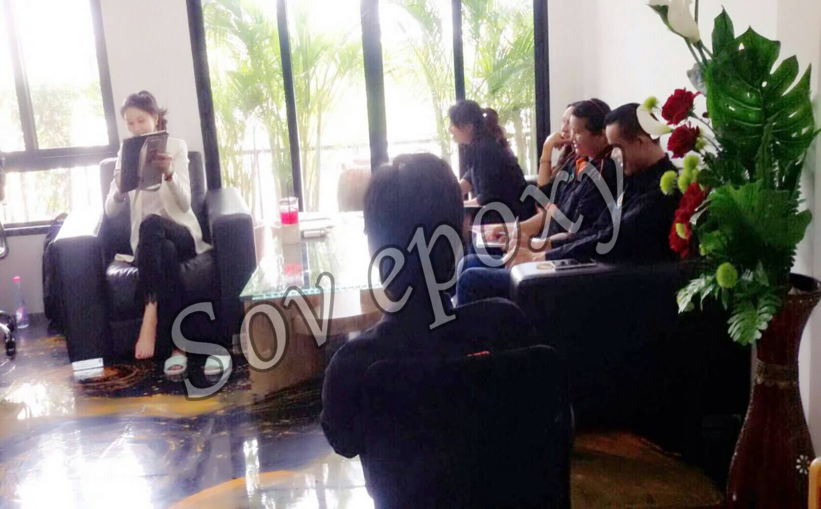 ประชุมยอดขาย SOV EPOXY 8