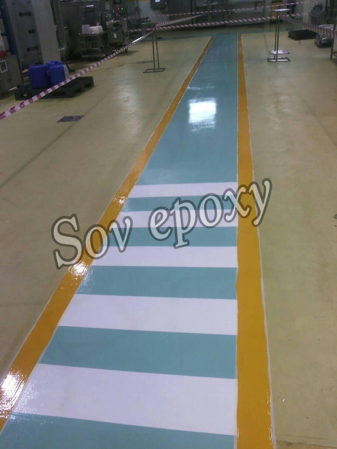 งานรีโนเวทพื้น Epoxy Self-leveling โรงงานเนสเล่ บางชัน 1