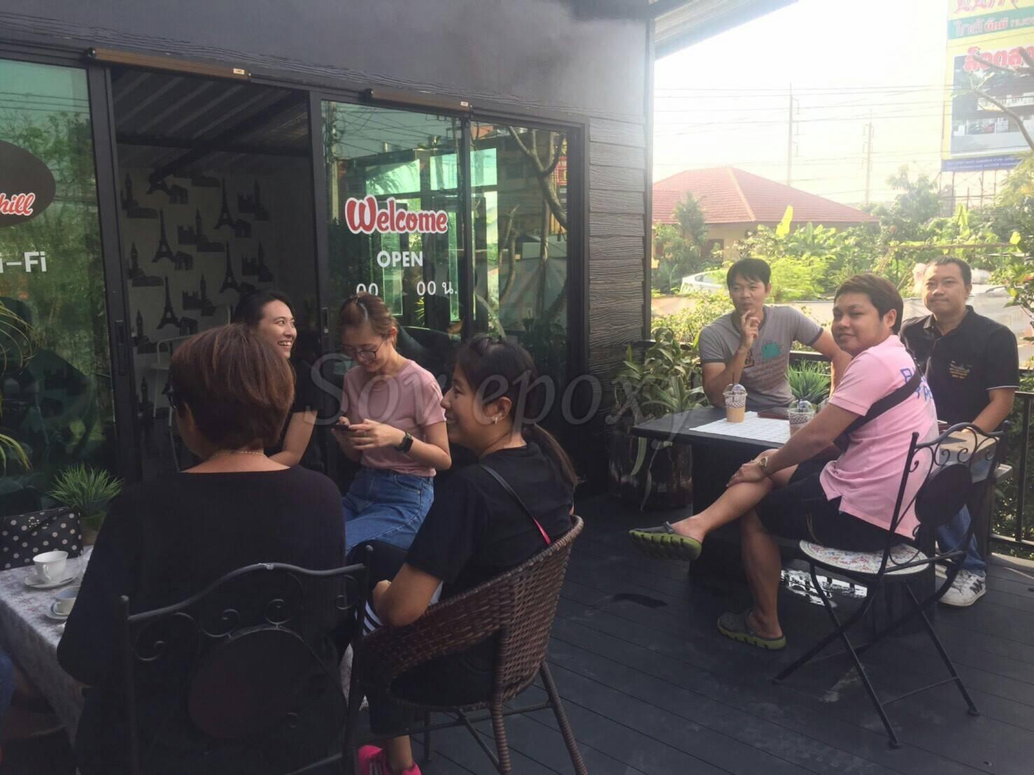 SOV & Coffee Chillเปิดให้บริการแล้วในโซนของ ร้านกาแฟ 13