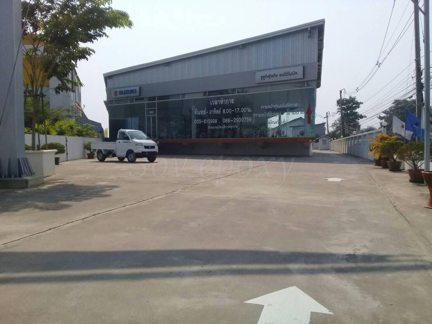 โครงการ  ซูซุกิ สุโขทัย ปรับปรุงโรงซ่อมสี 1