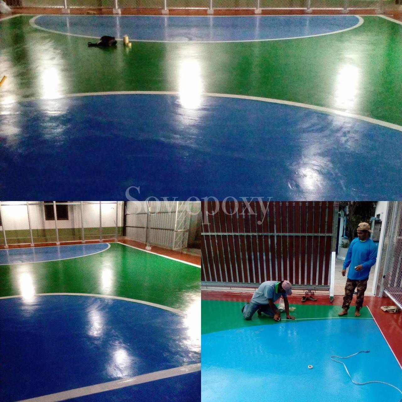 พื้นสนามกีฬา PU SPORT 15