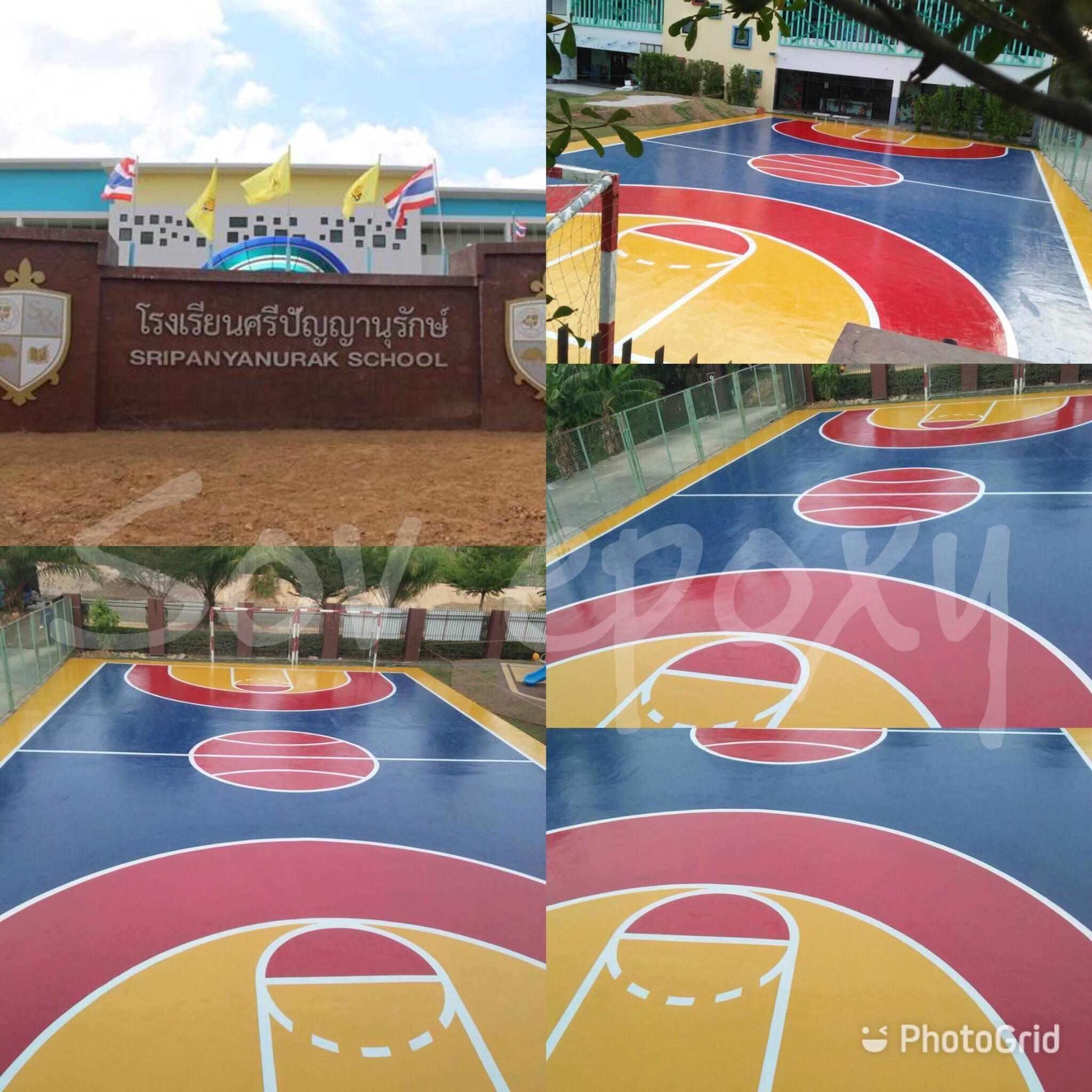 พื้นสนามกีฬา PU SPORT 6