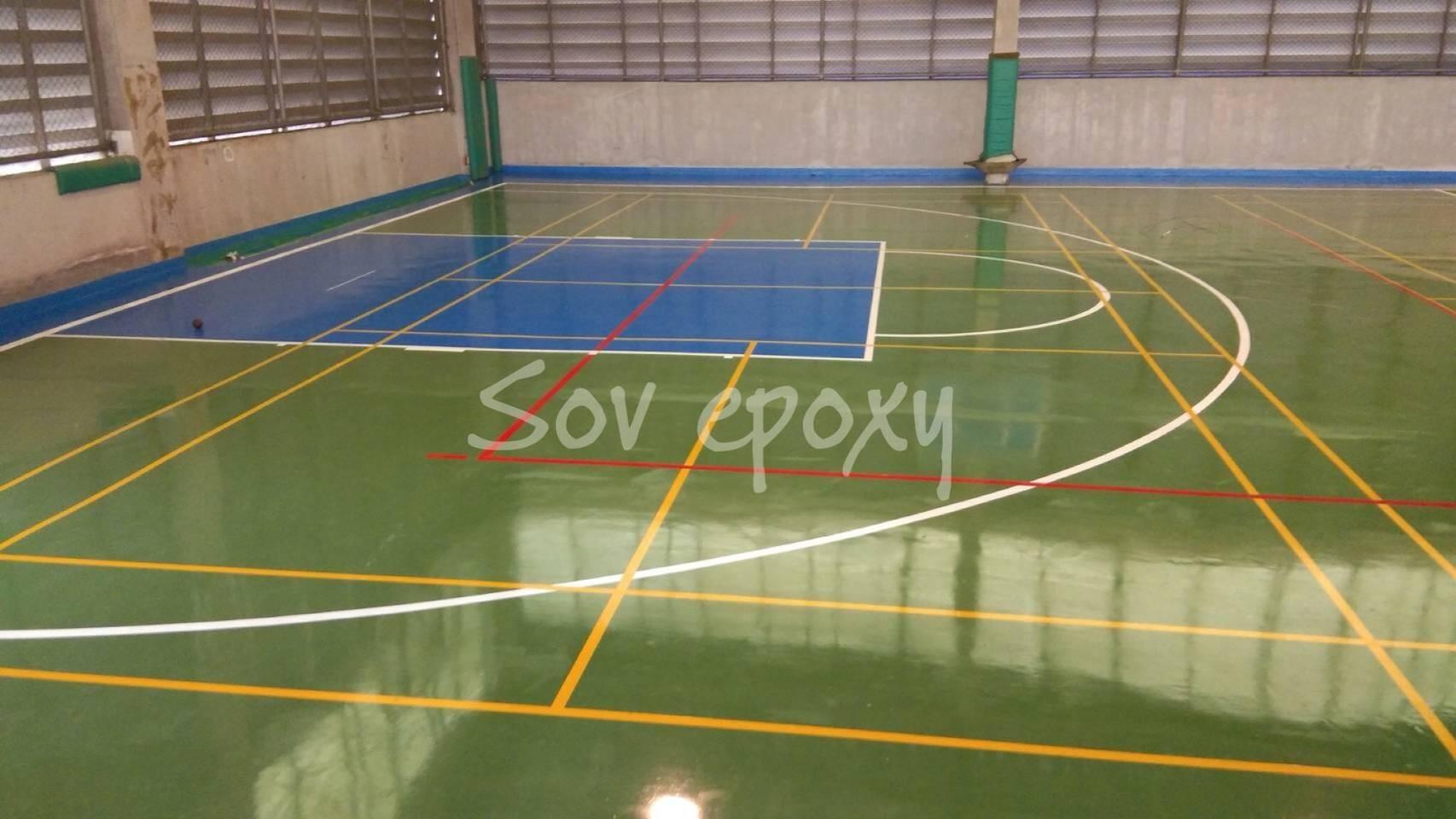 พื้นสนามกีฬา PU SPORT 11