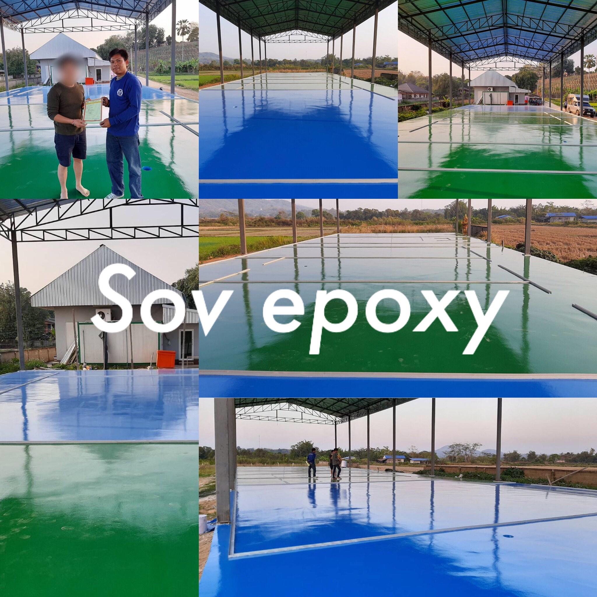 พื้น Epoxy Coating โรงงานสับปะรด จ.เชียงราย 1