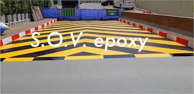 งานทำ Non slip Flooring (พื้นกันลื้น) RAMP 1